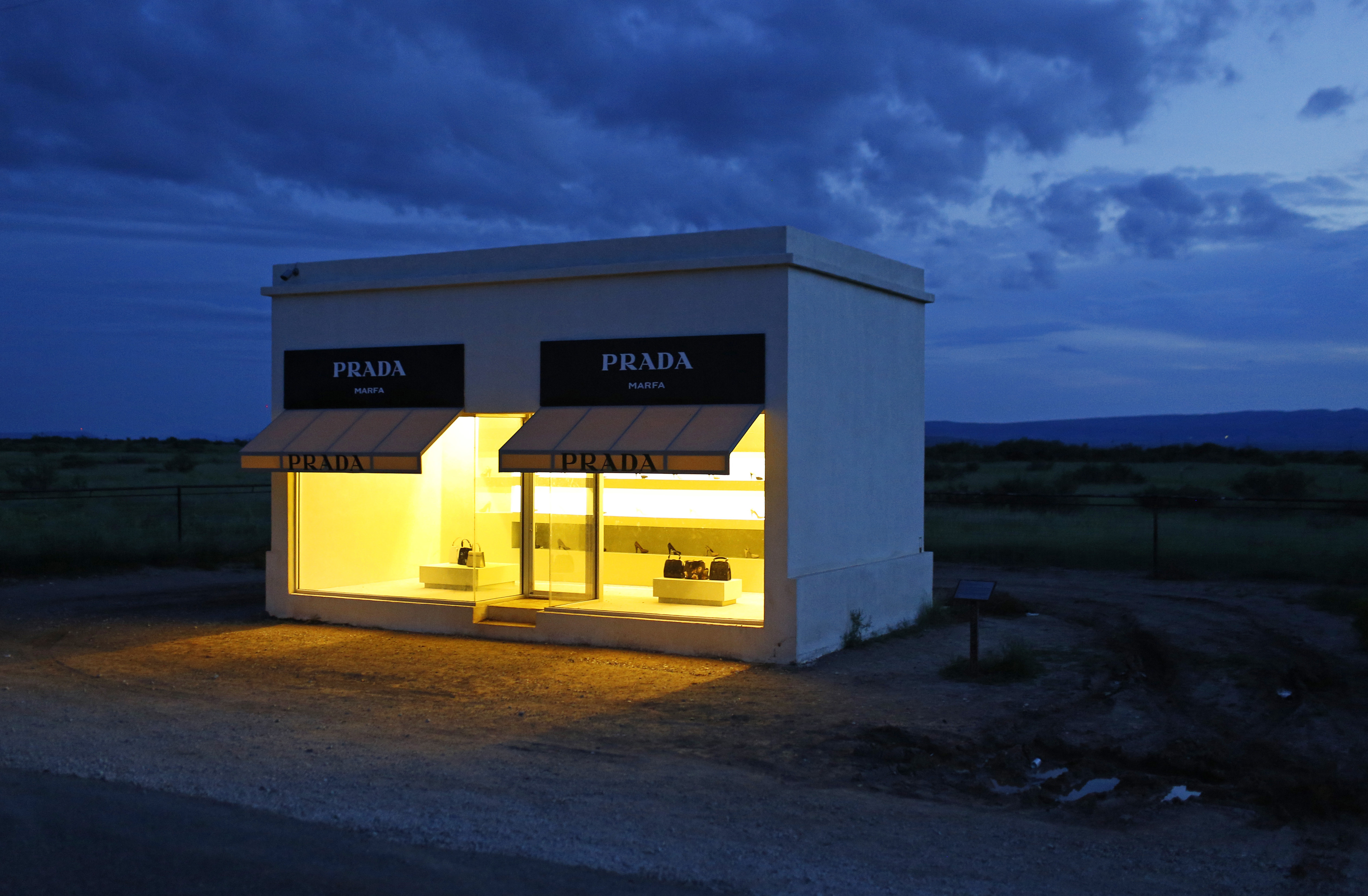 The famous Prada Marfa is actually 30 minutes outside of town but well worth a trip.