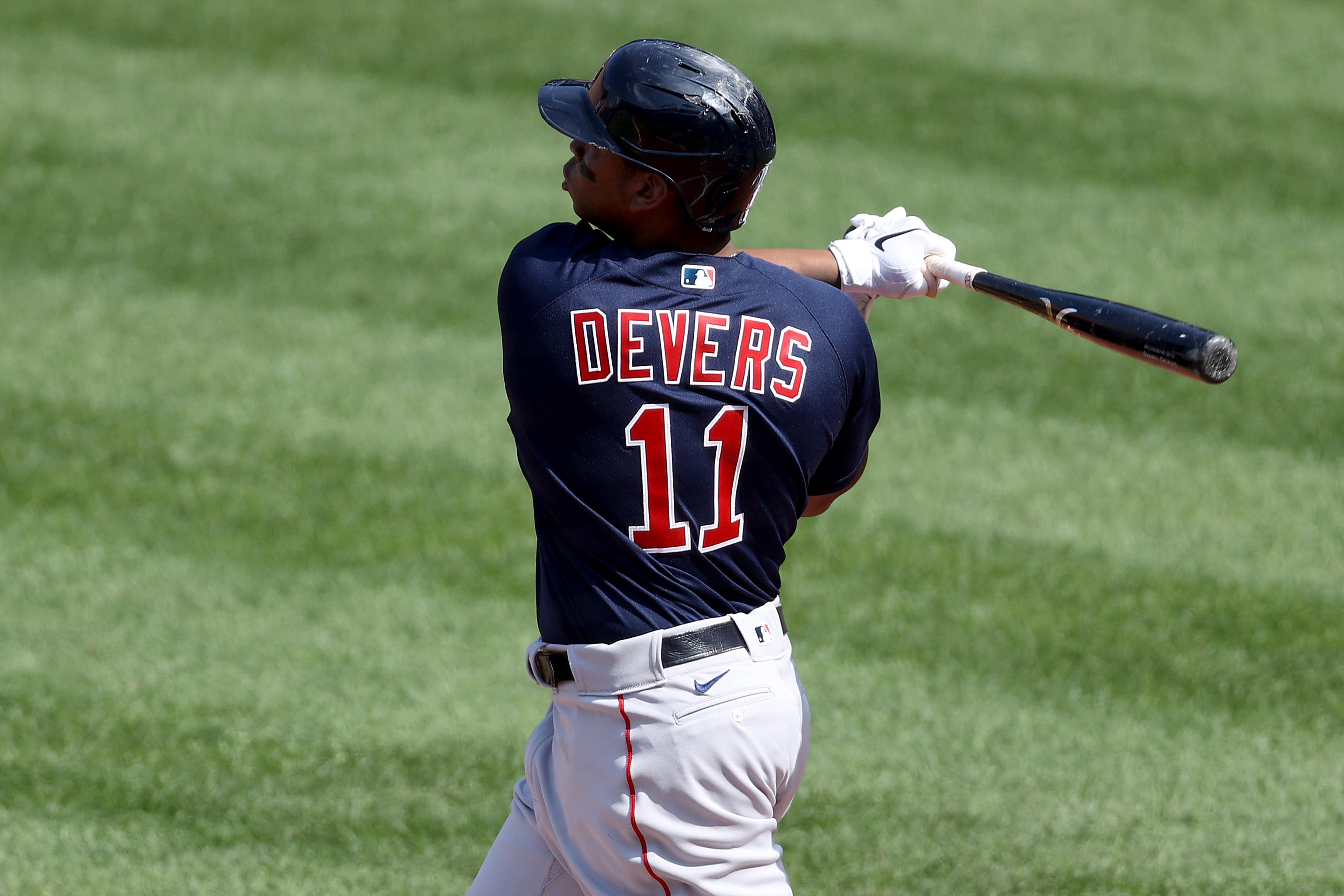 Rafael Devers has made himself feel at home at Camden Yards - The Boston  Globe