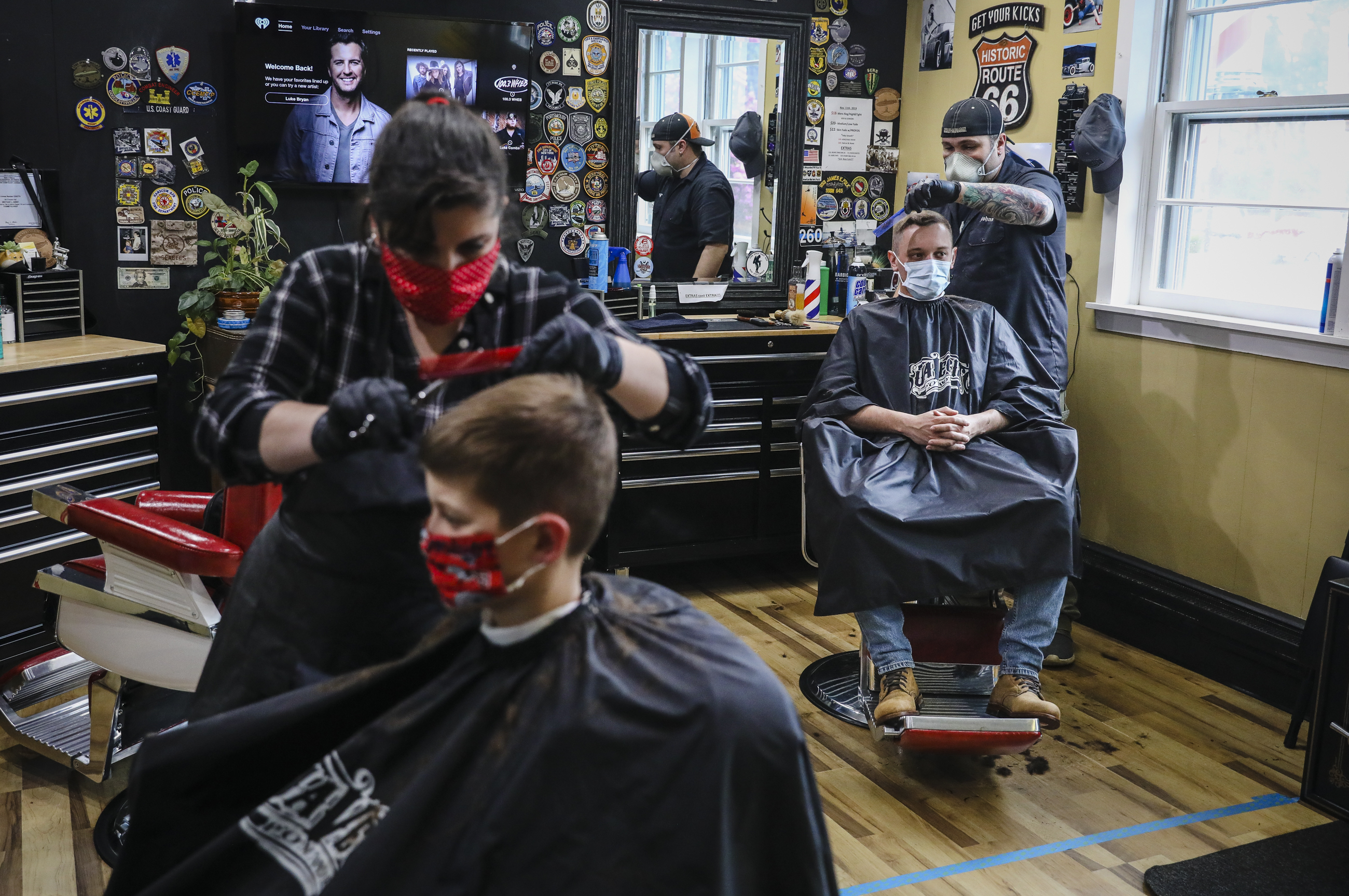 Everybody is looking a little haggard' Maine barbershops booked ...