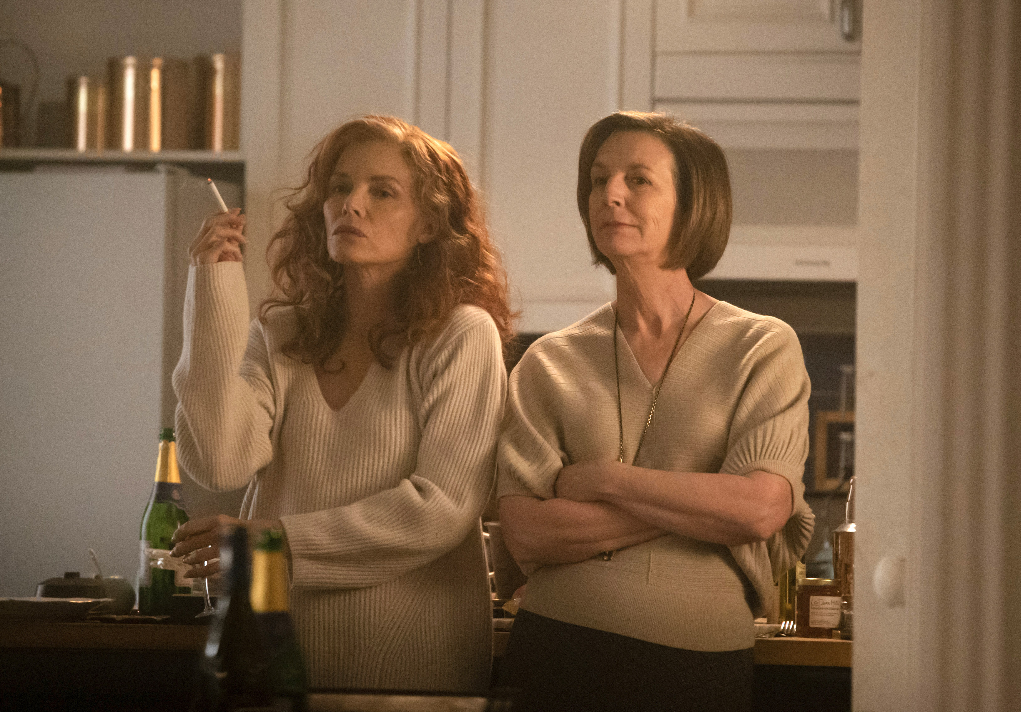 """Michelle Pfeiffer (left) and Susan Coyne in """"French release."""""""