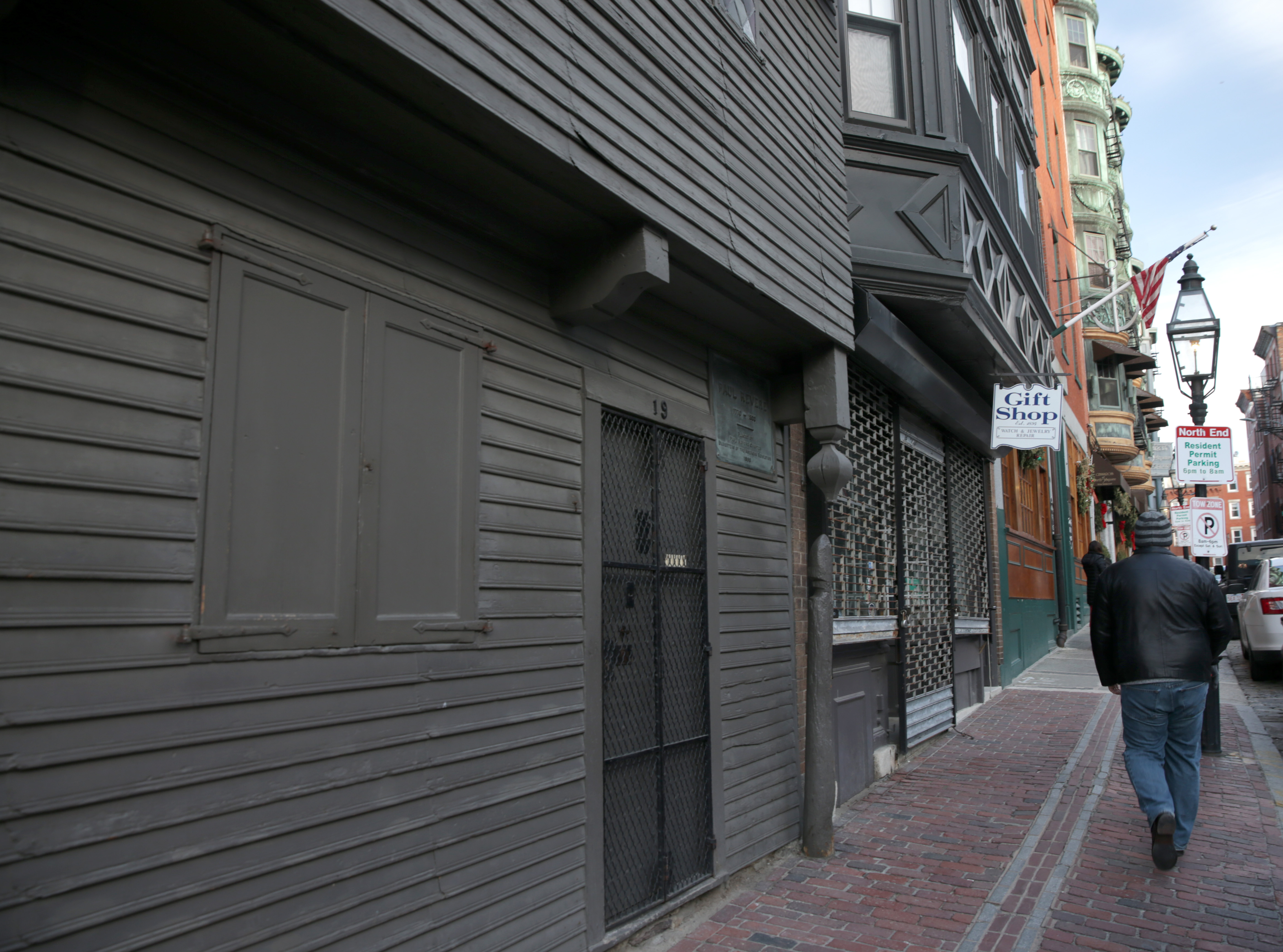 The Paul Revere House in Boston's North End.