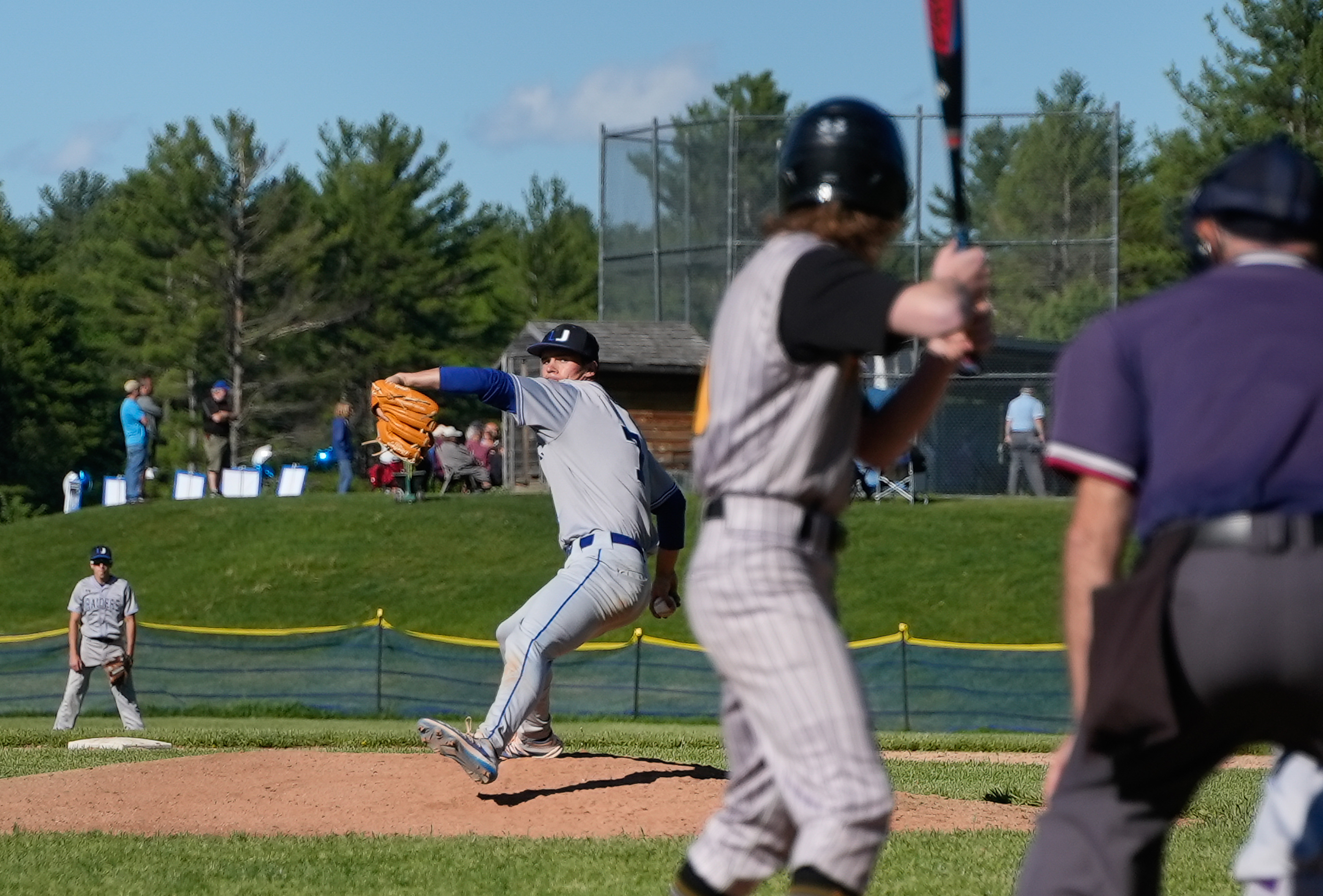 Kellington could be the second player drafted from Vermont to make it into the big leagues.
