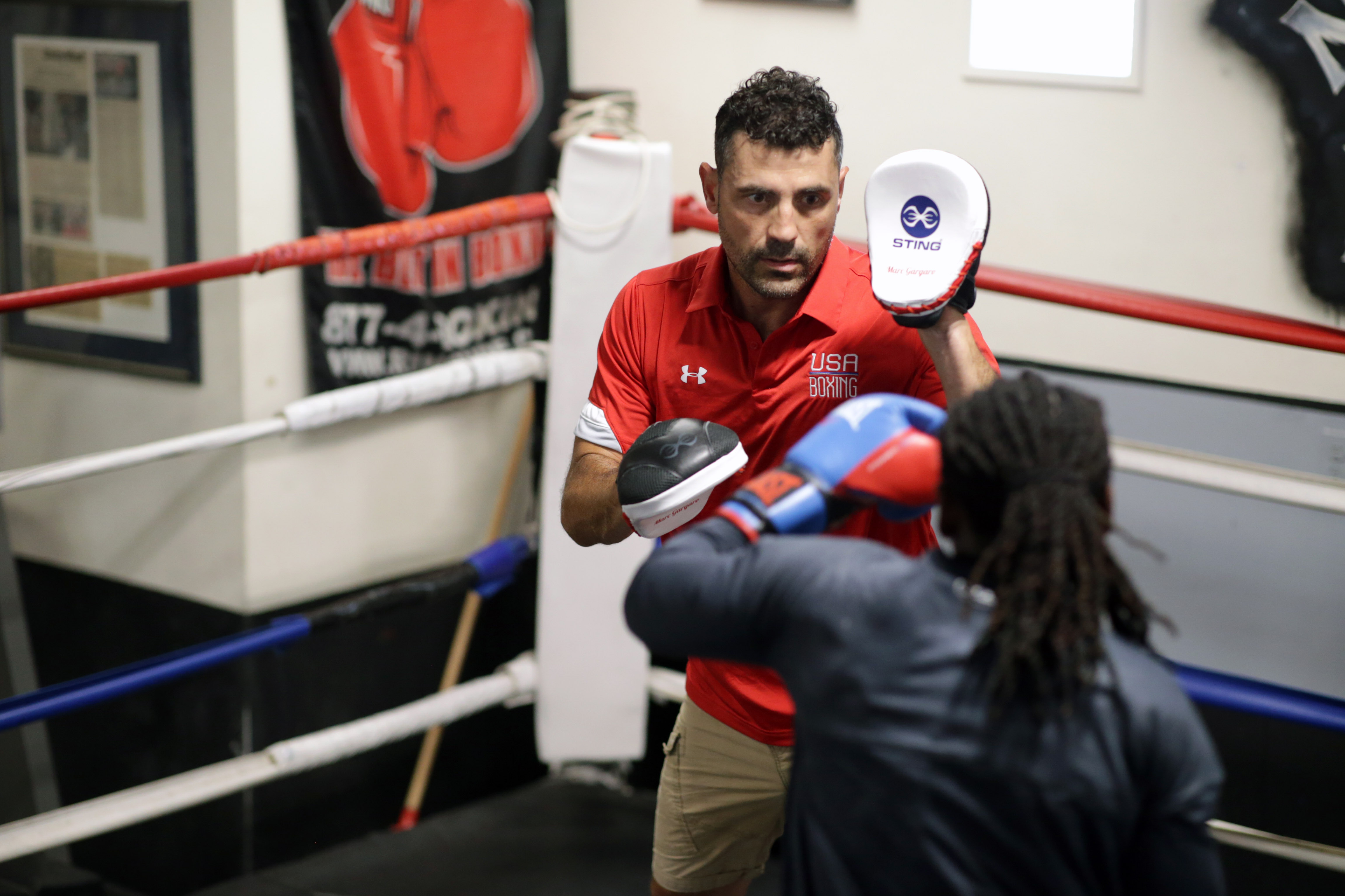 Marc Gargaro's work as a boxing coach will shift from the Nonantum Boxing Club to training USA Boxing athletes.