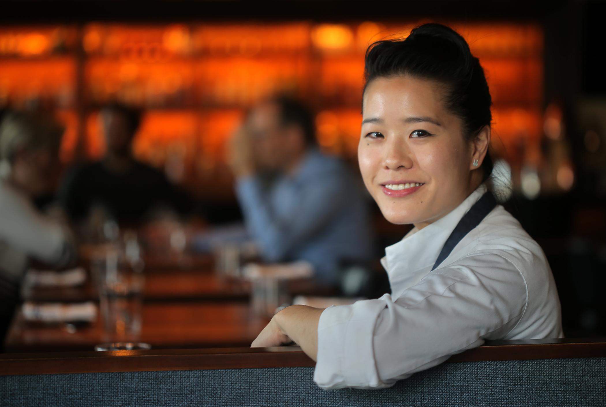Chef-owner Tracy Chang at Pagu.