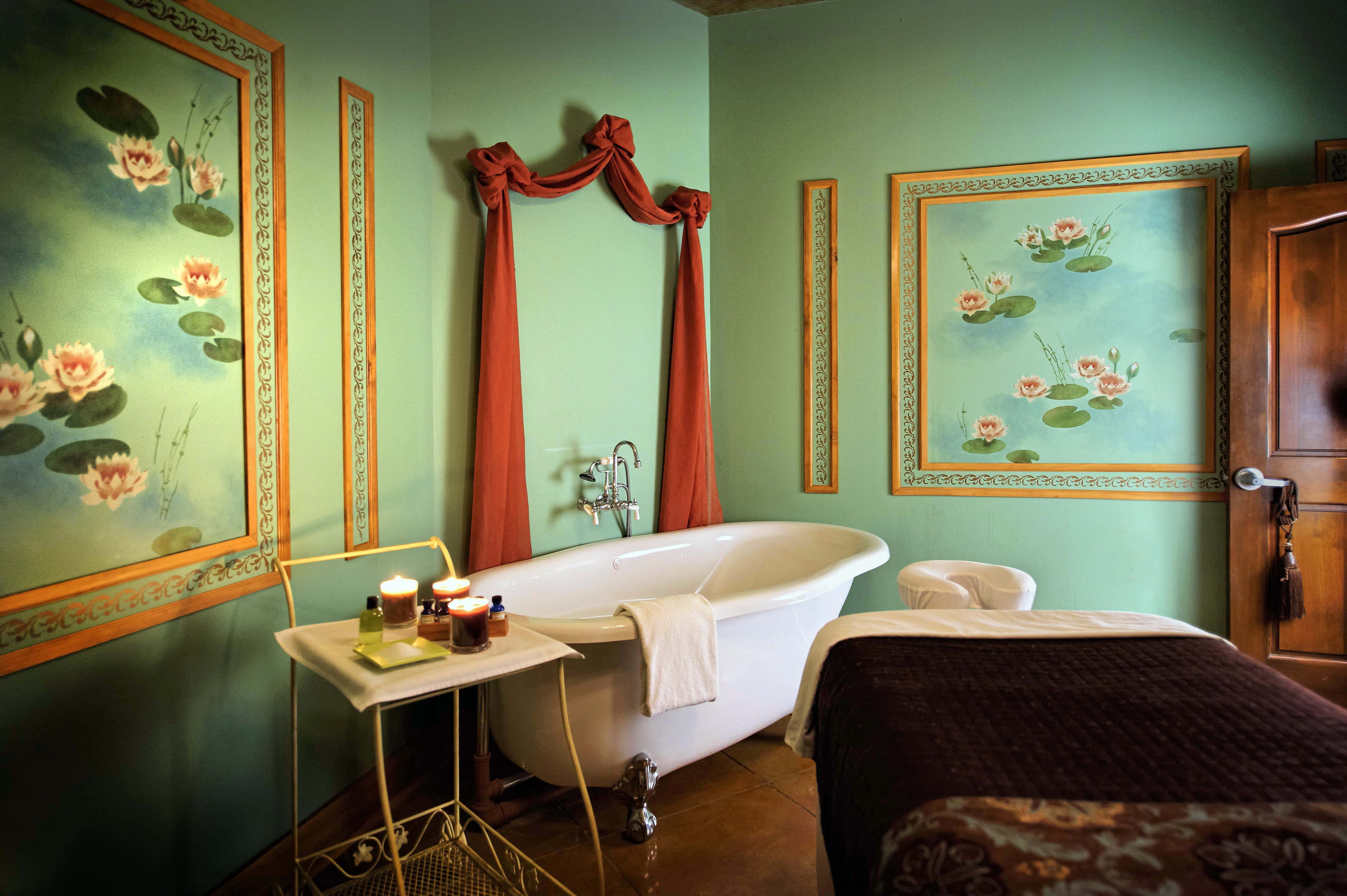 The spa at Mirbeau is a cozy getaway for couples, and less expensive than a trip to France.