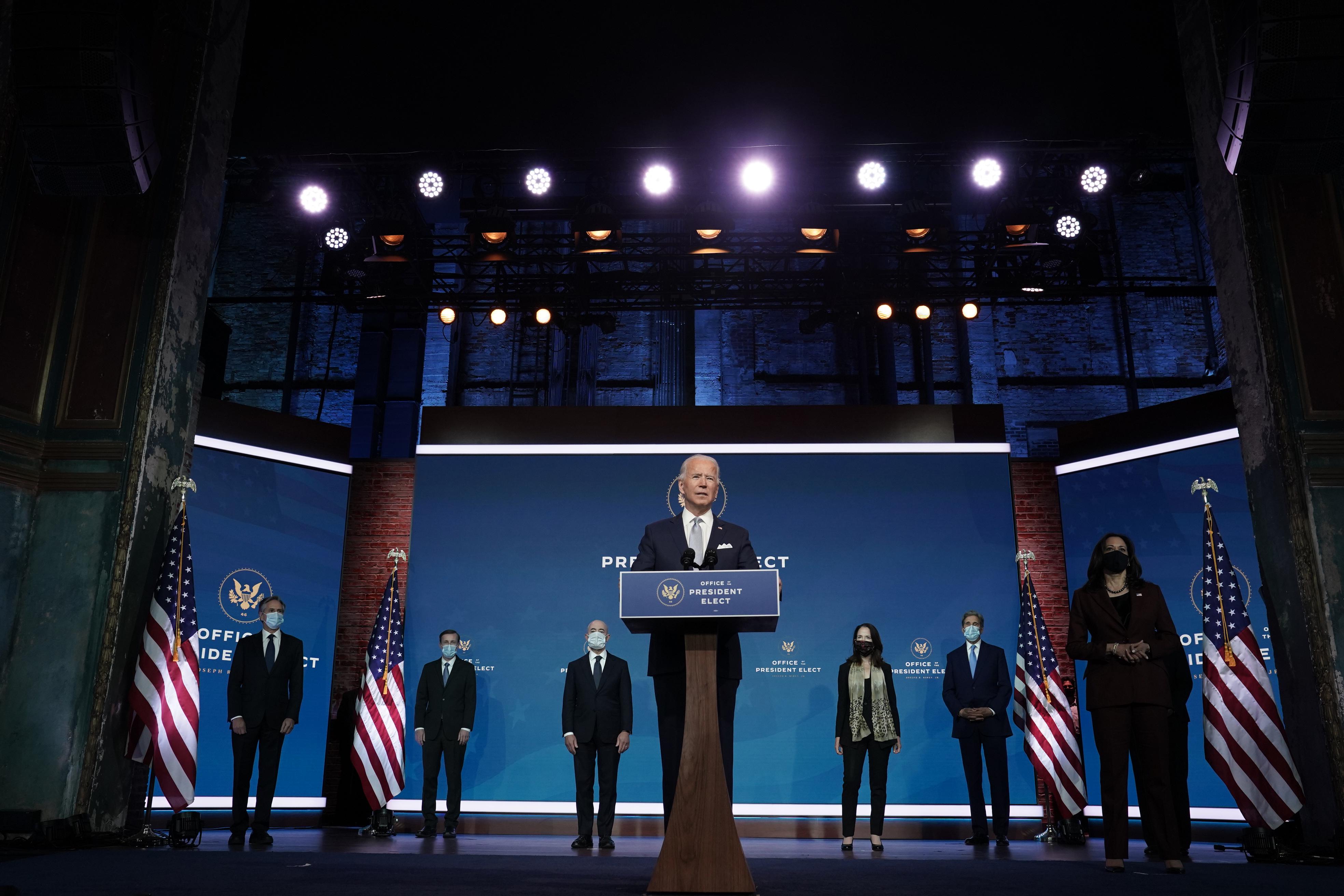 Biden Says Split Congress Affects Cabinet Picks The Boston Globe