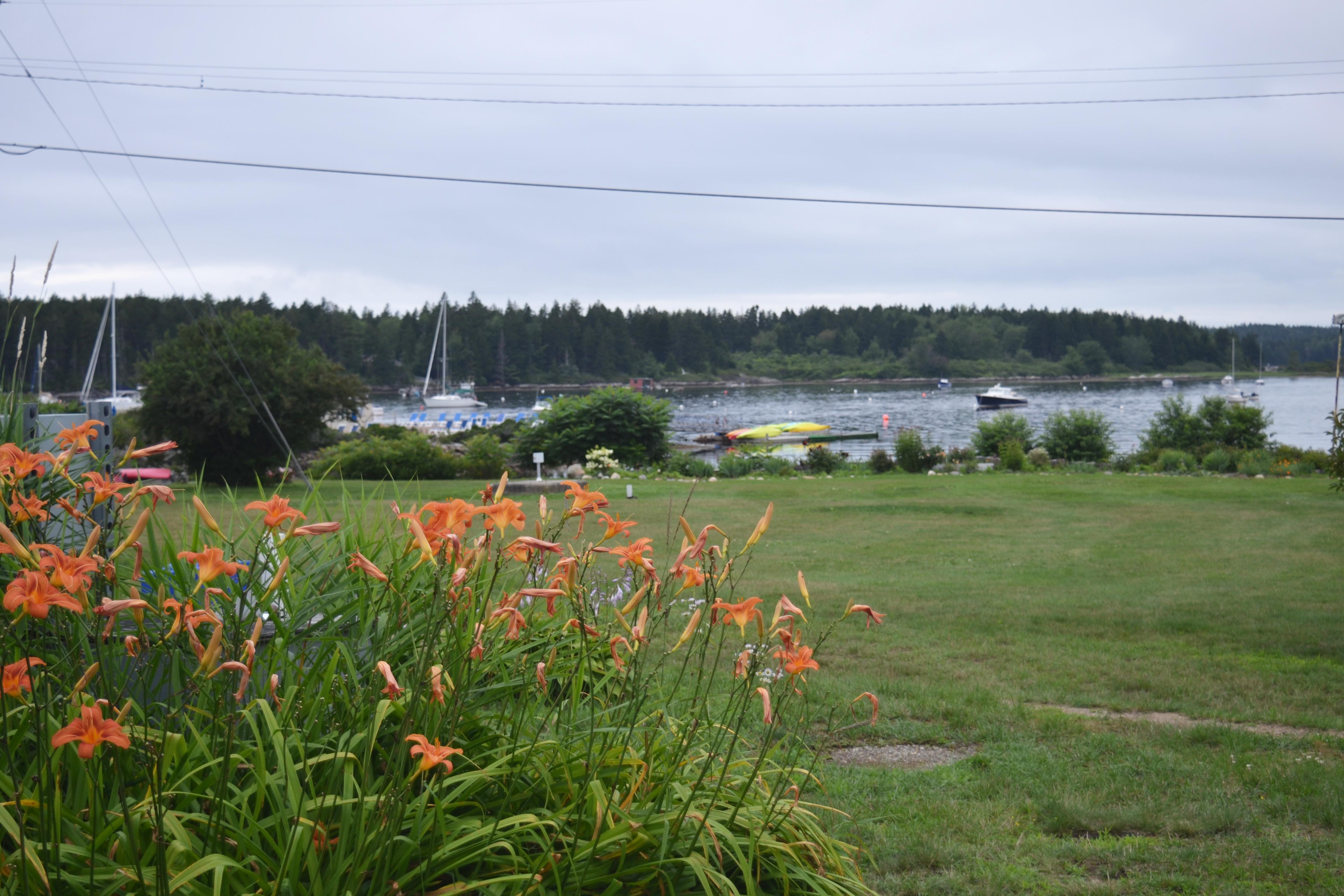 Sebasco Harbor Resort has gorgeous water views.