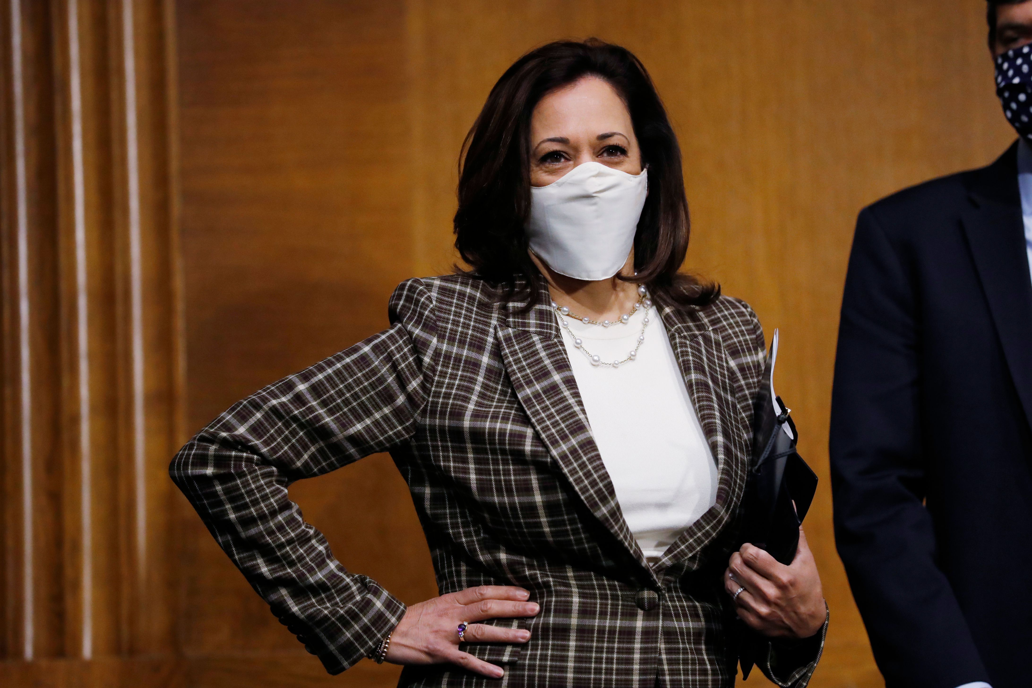 Left Wing S Digs At Kamala Harris Overlook Her Value As A Running Mate The Boston Globe