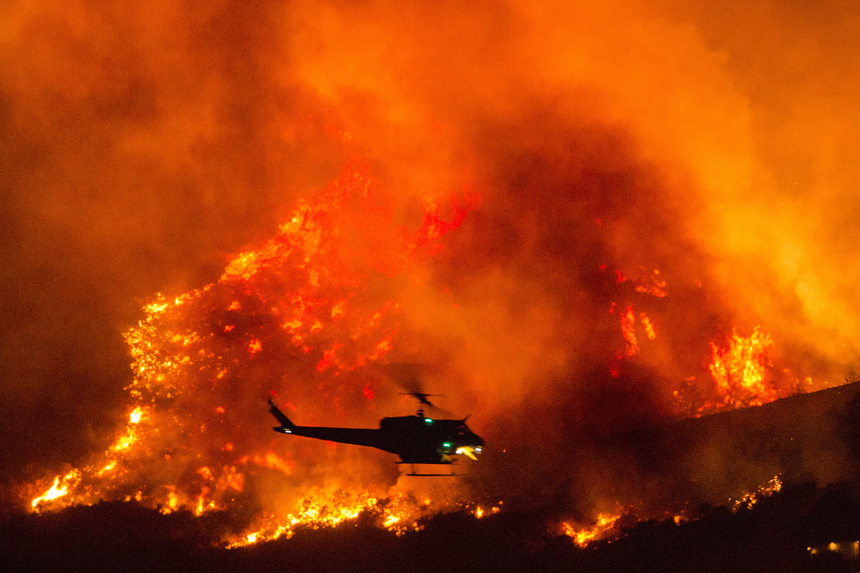 California National Guard • Rescues over 200 People from Creek Fire • California 06 Sep 2020