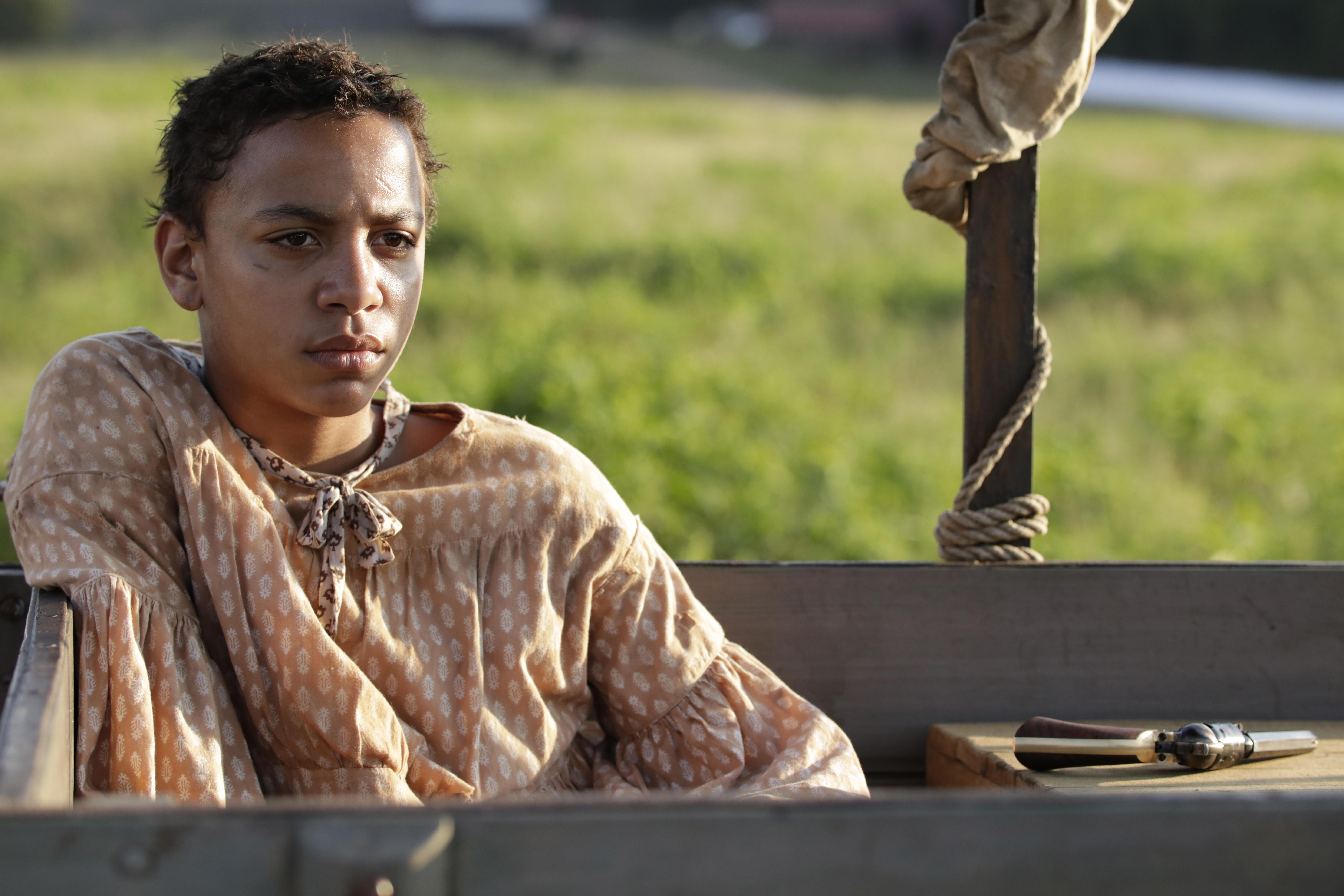 """Joshua Caleb Johnson comme Onion dans la série Showime """"Le bon seigneur oiseau."""""""