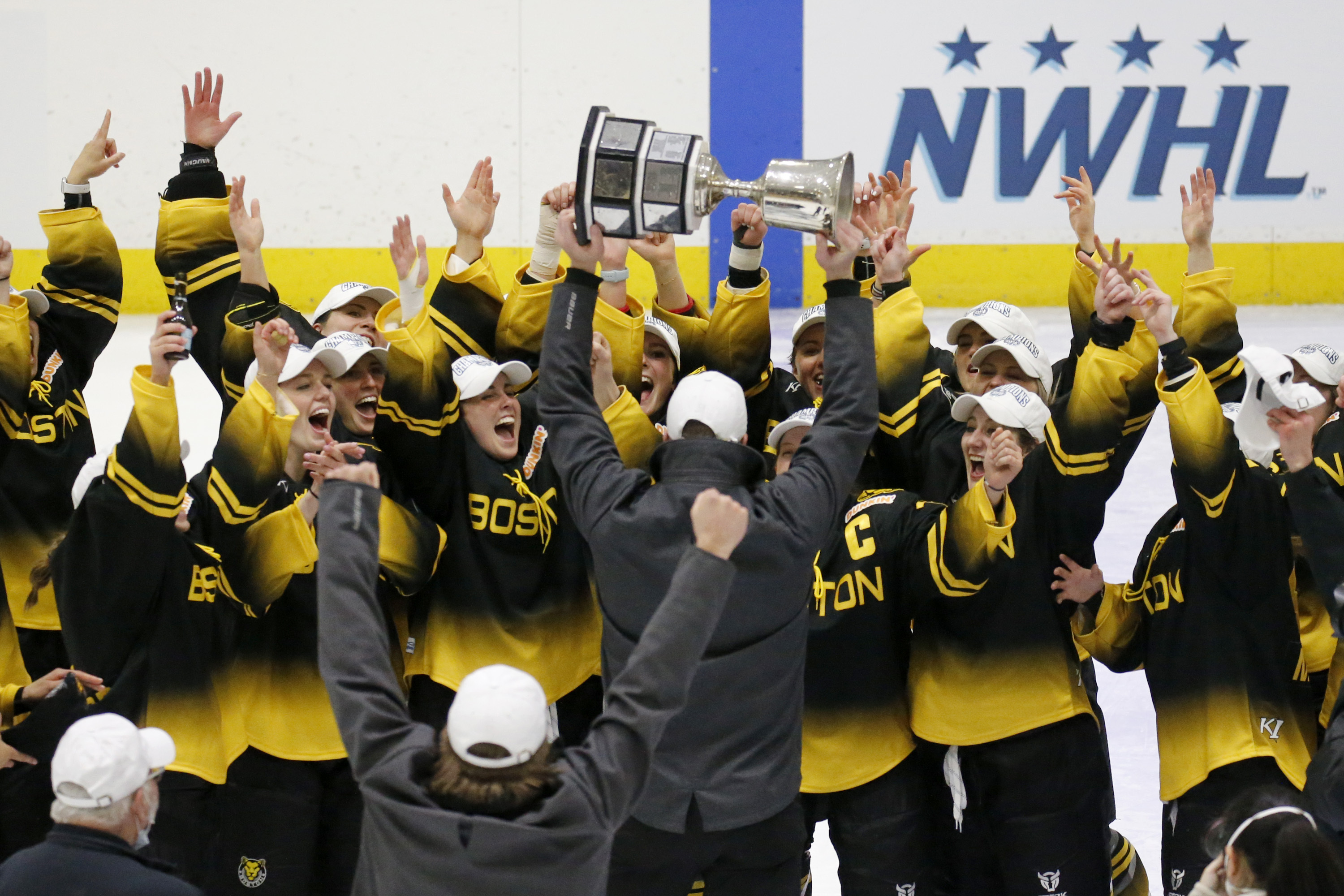 The Boston Pride, two-time Isobel Cup winners, are preparing a title defense for 2021-22.