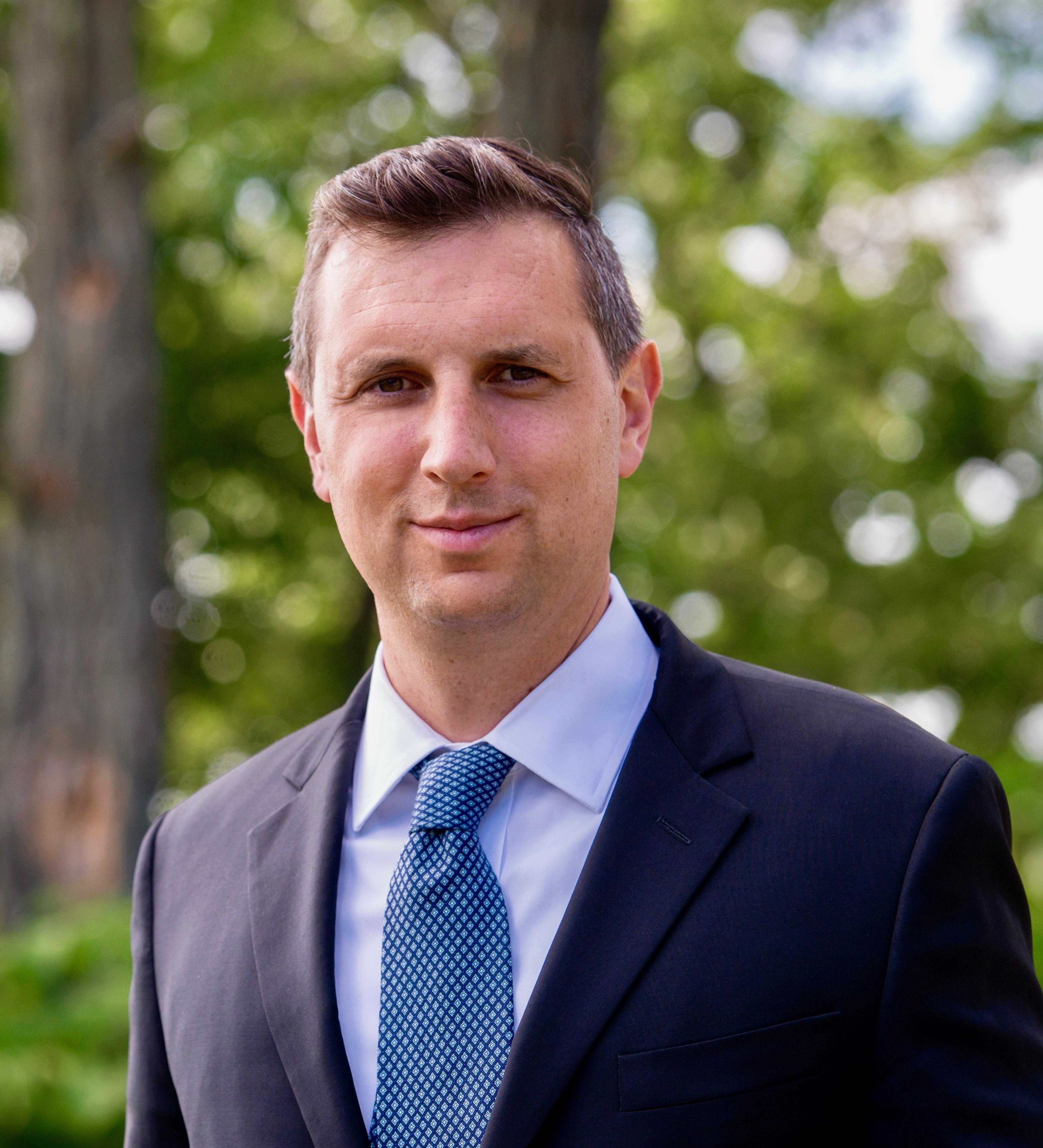 General Treasurer Seth Magaziner