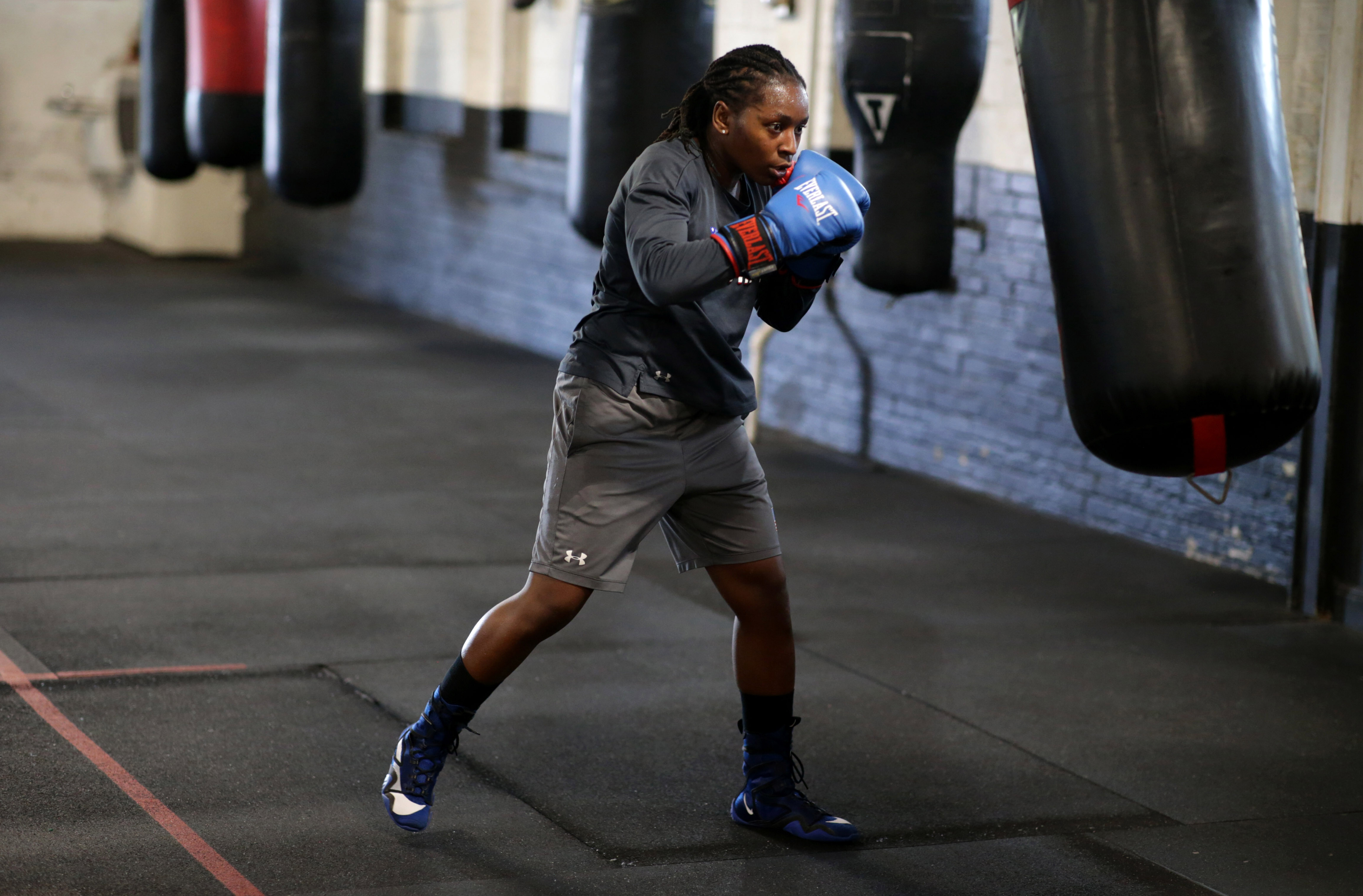 Ellis got her start sparring in Lynn, and is now a favorite to win gold in Tokyo next month.
