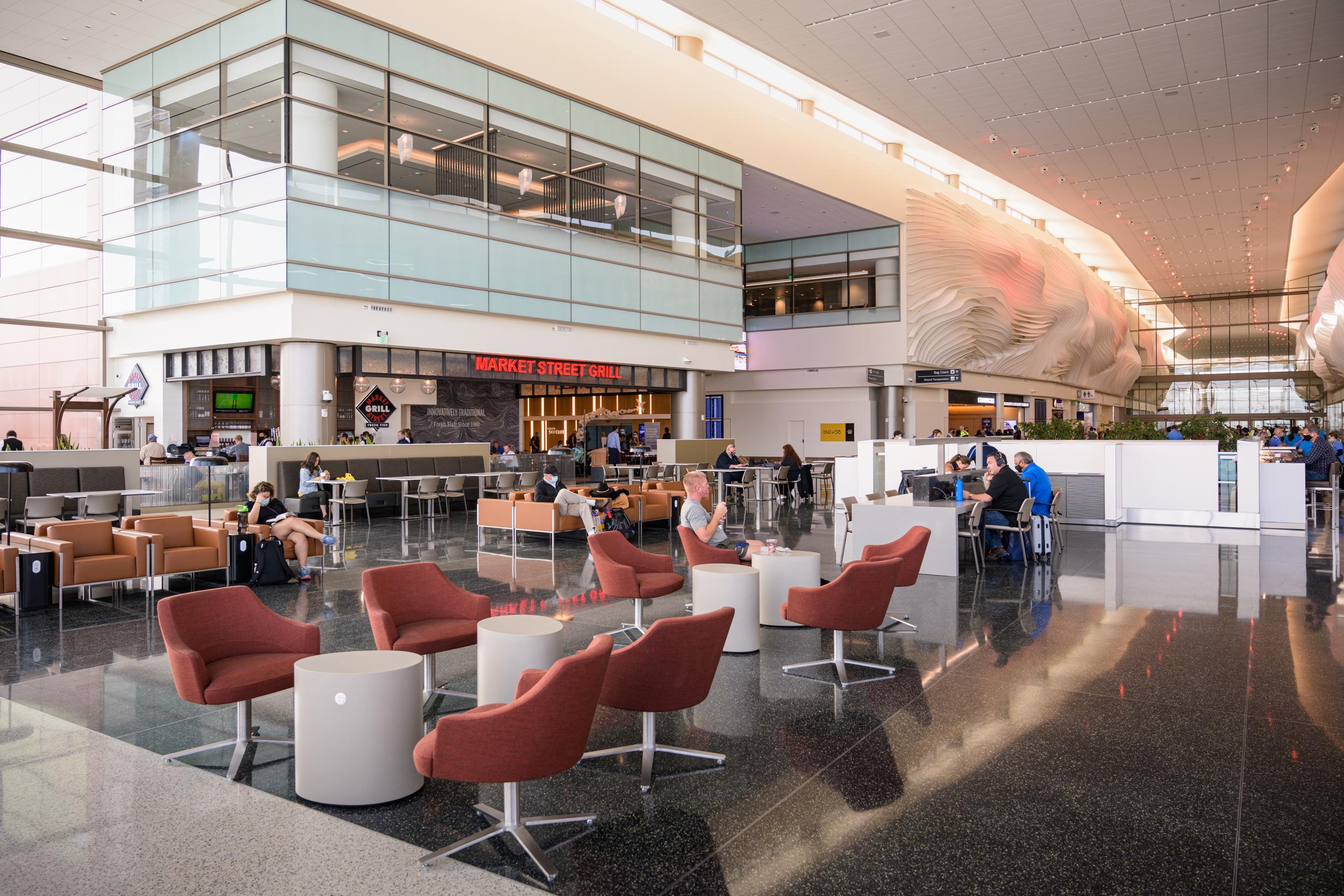 Nuevo aeropuerto internacional de Salt Lake City.