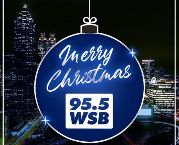 Wsb Radio Schedule Christmas 2020 Holiday Schedule for 95.5 WSB Atlanta's News & Talk – 95.5 WSB