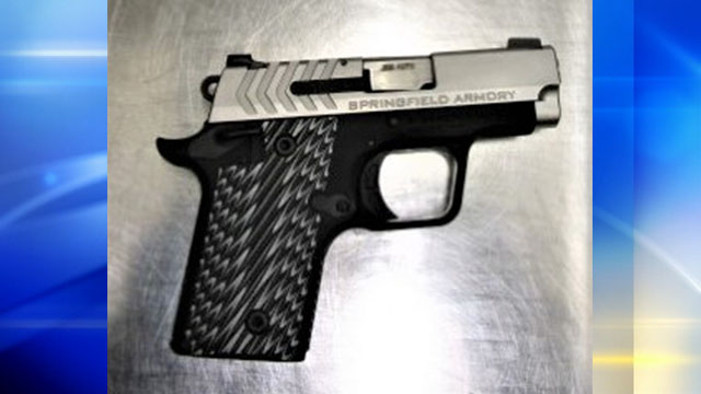 Man stopped with loaded gun at PIT Airport says he forgot he had it