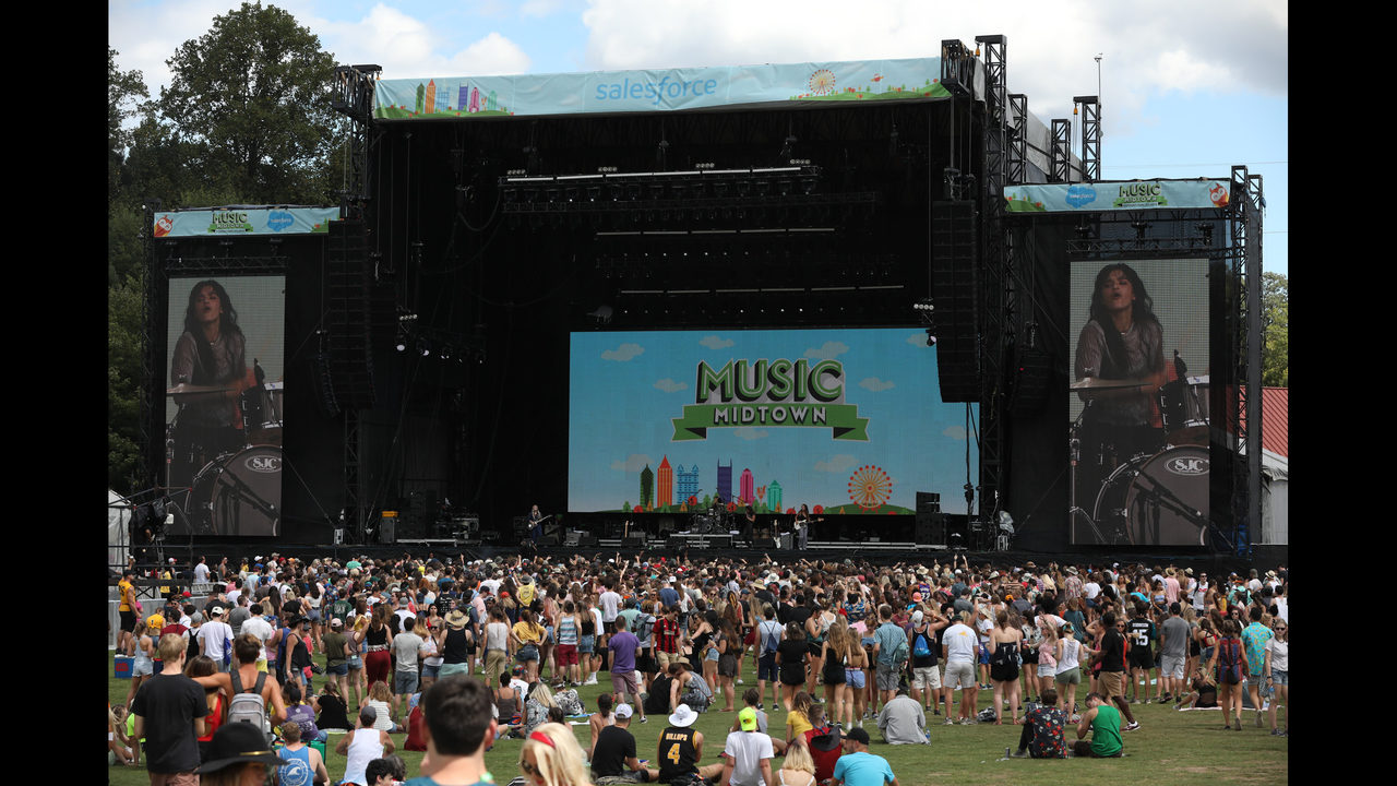 Music Midtown to require proof of COVID-19 vaccination or negative test to attend