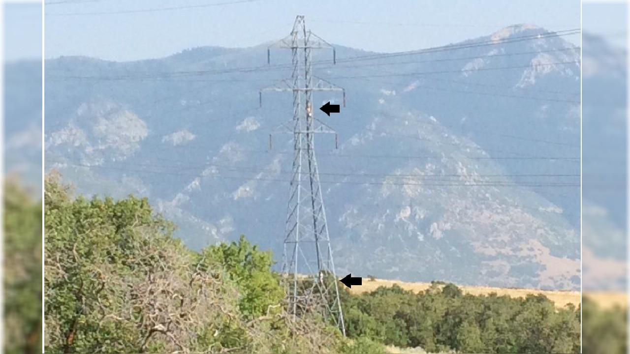 Utah sheriff warns against hanging hammocks on power lines