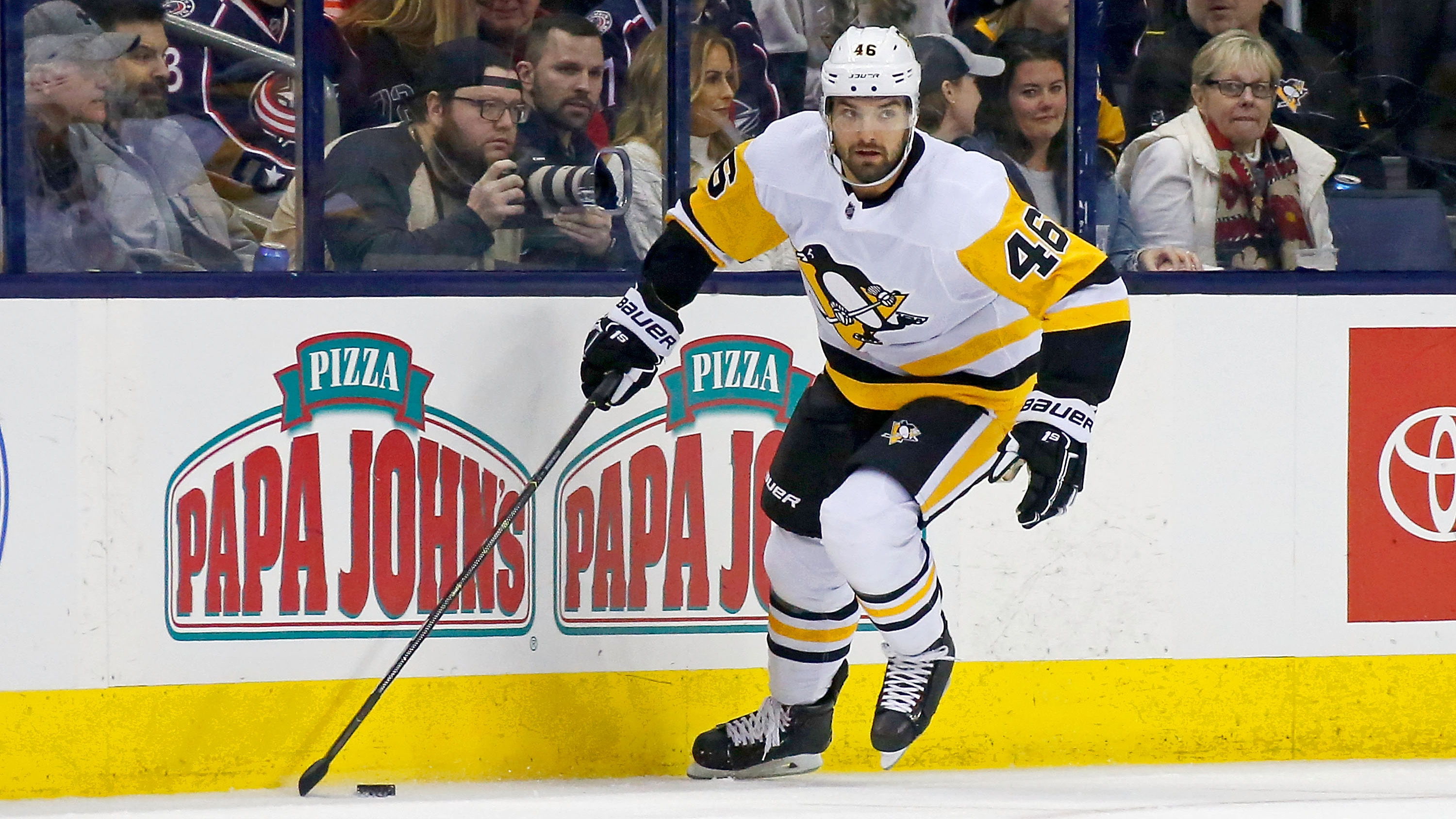 Penguins' Aston-Reese tests positive for COVID-19