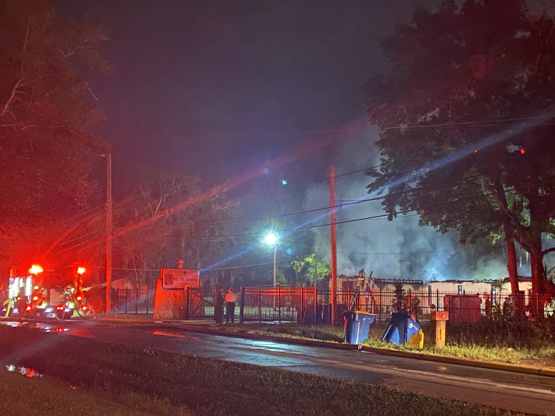 JFRD says northside church is total loss after fire