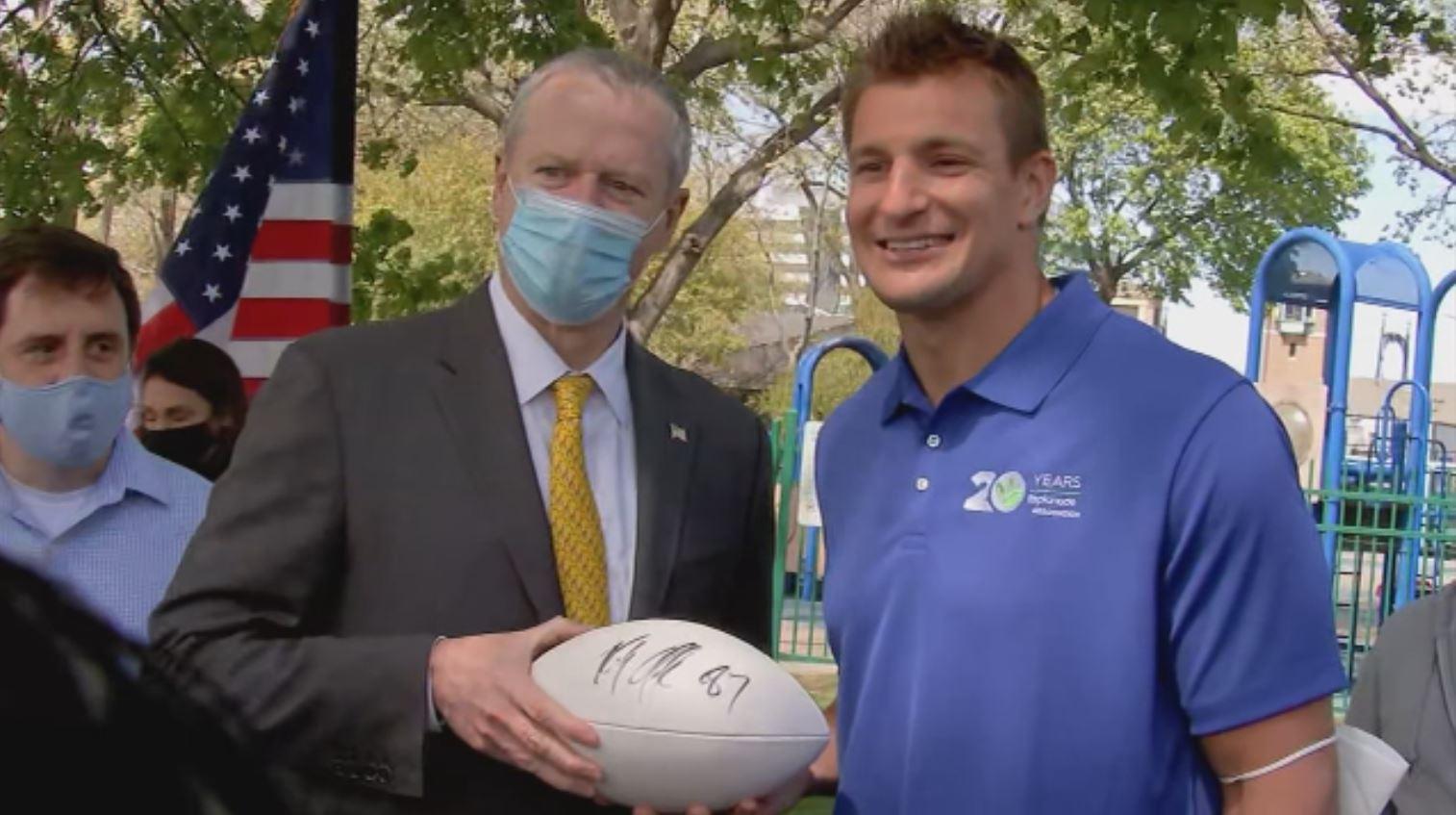 Rob Gronkowski donates $1.2 million to renovate Boston's Charlesbank Playground
