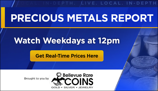 Watch the Precious Metal Report weekdays at noon