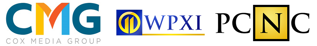 CMG Cox Media Group logo WPXI Channel 11 logo PCNC logo