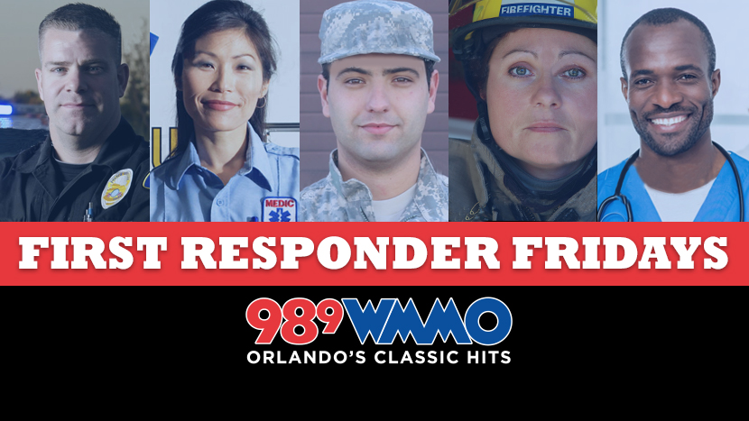 First Responder Friday on 98.9 WMMO
