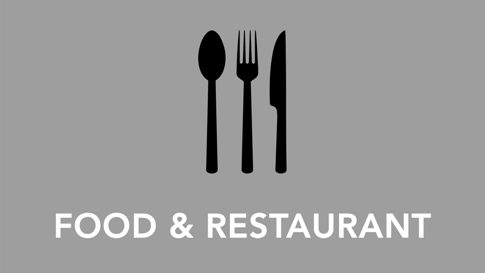 Food and Restaurants - Click for more