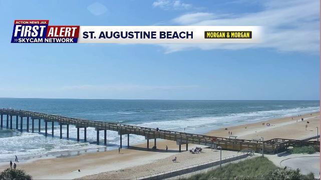 First Alert Skycam Network - St. Augustine Beach
