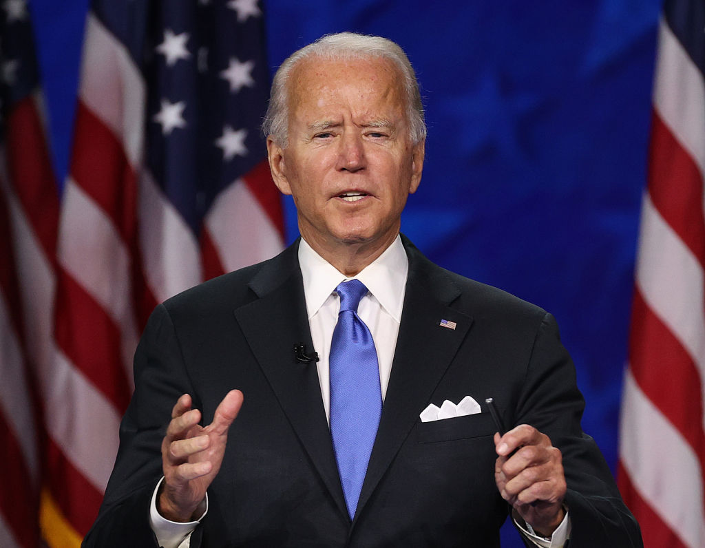 Democratic National Convention Day 4 Biden Accepts Nomination Takes On Trump In Speech