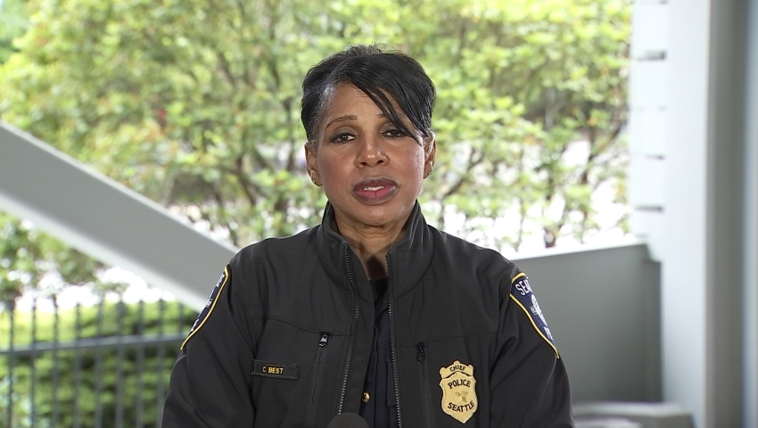 SPD chief sends letter to city council, says protesters targeted a home of hers