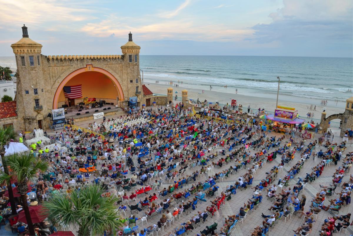 Saturday night concerts at the Daytona Beach Bandshell return July 11