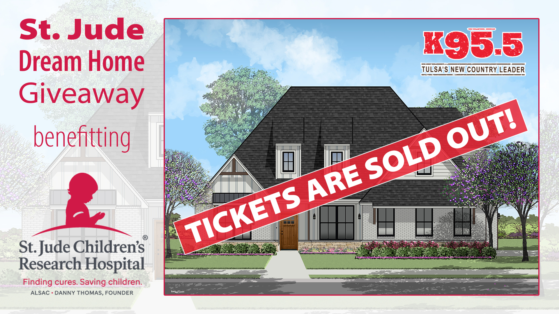K95.5 St. Jude Dream Home Giveaway