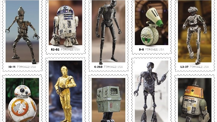 USPS releases 'Star Wars' stamps May 4