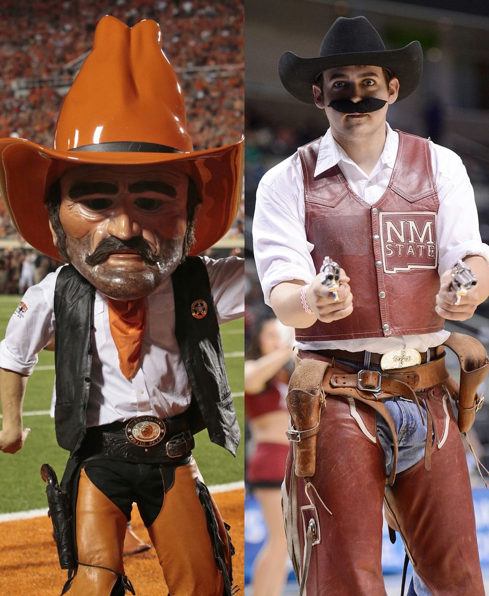 Osu Settles Dispute With New Mexico State On Pistol Pete Look A