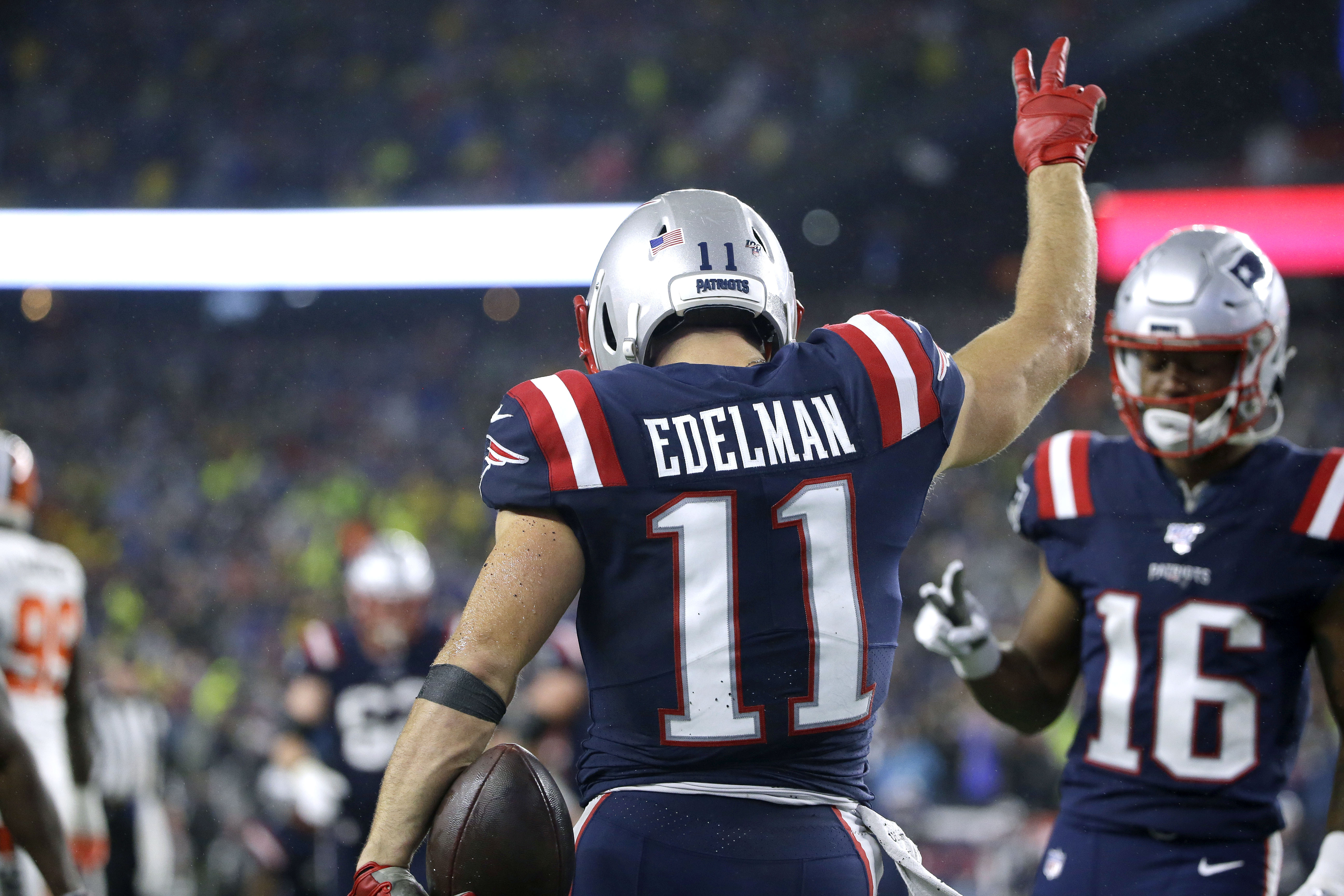 Patriots release Julian Edelman following failed physical