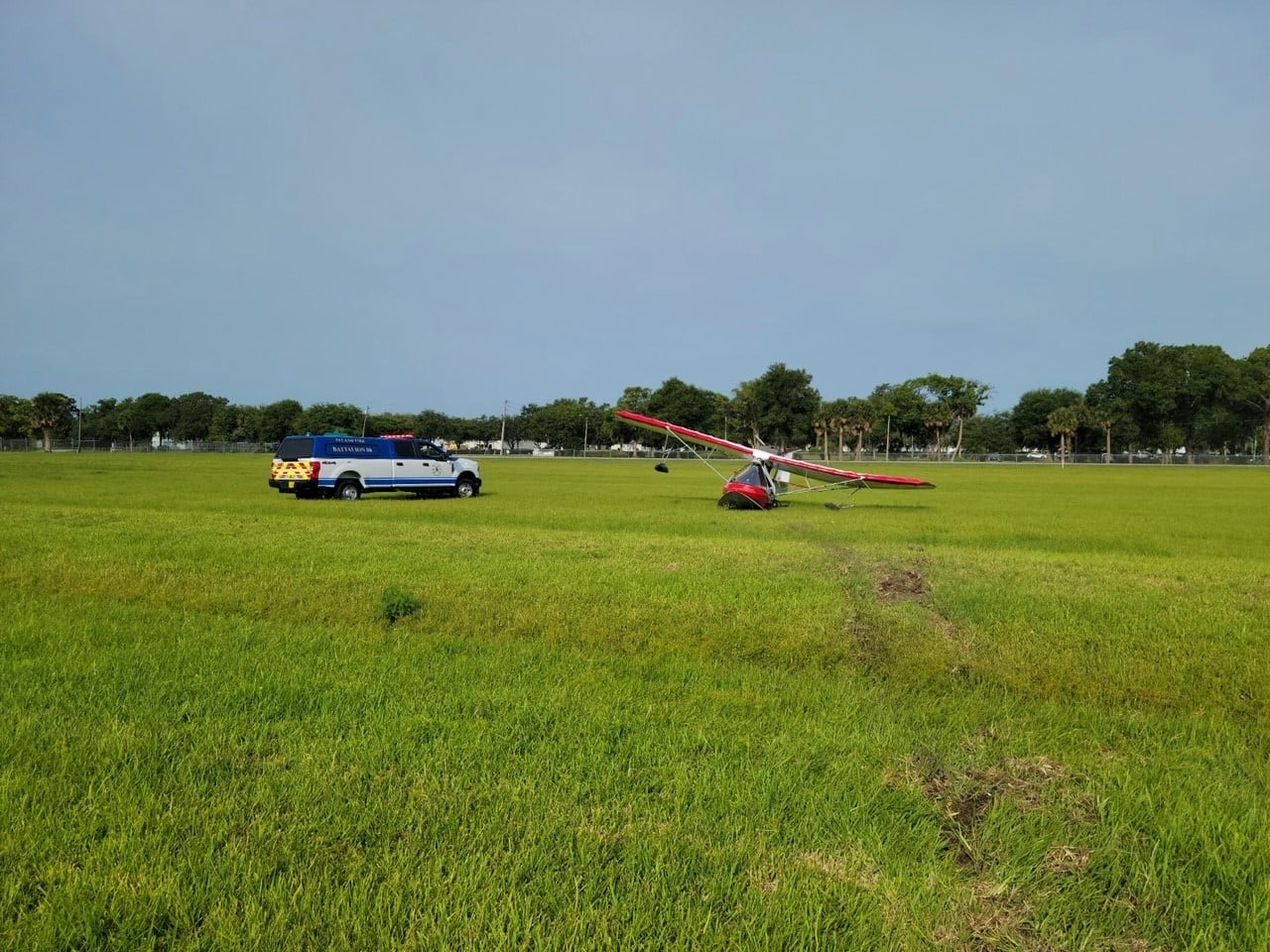 Small plane crashes after taking off near DeLand airport