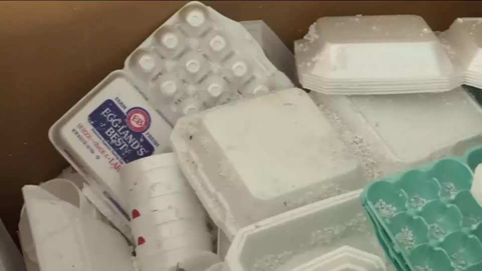 Do you have a lot of Styrofoam Waste? Local organizations to hold recycling event at Welcome Stadium Saturday