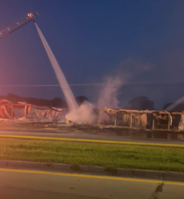 Muskogee furniture store a total loss after fire