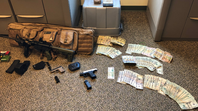 Police seize heroin, firearms and more after 11-month investigation in Bellingham