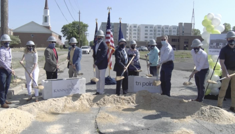 Homebuilder starts work on key piece of downtown Kannapolis revitalization