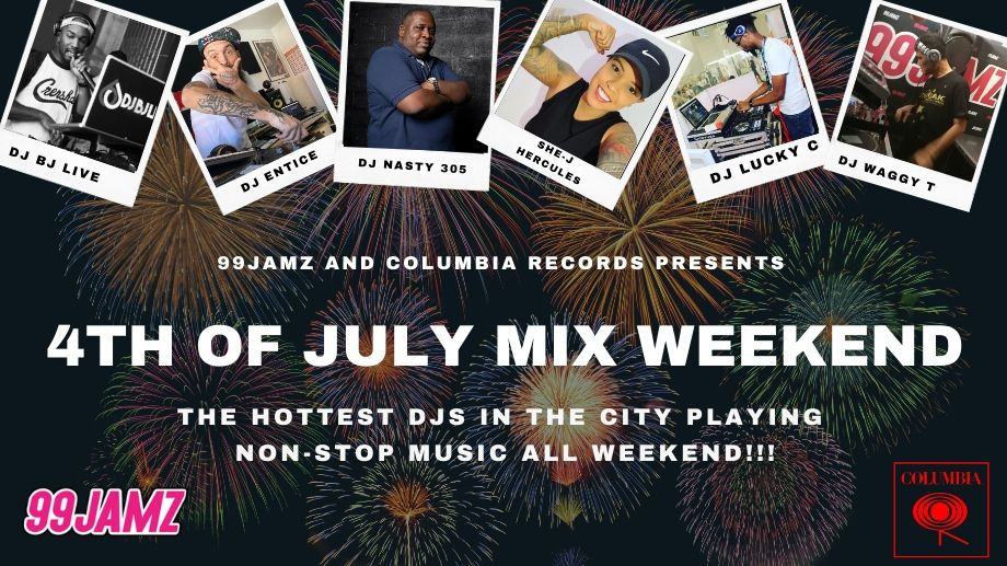 Tune in For Our 4th of July Mix Weekend!