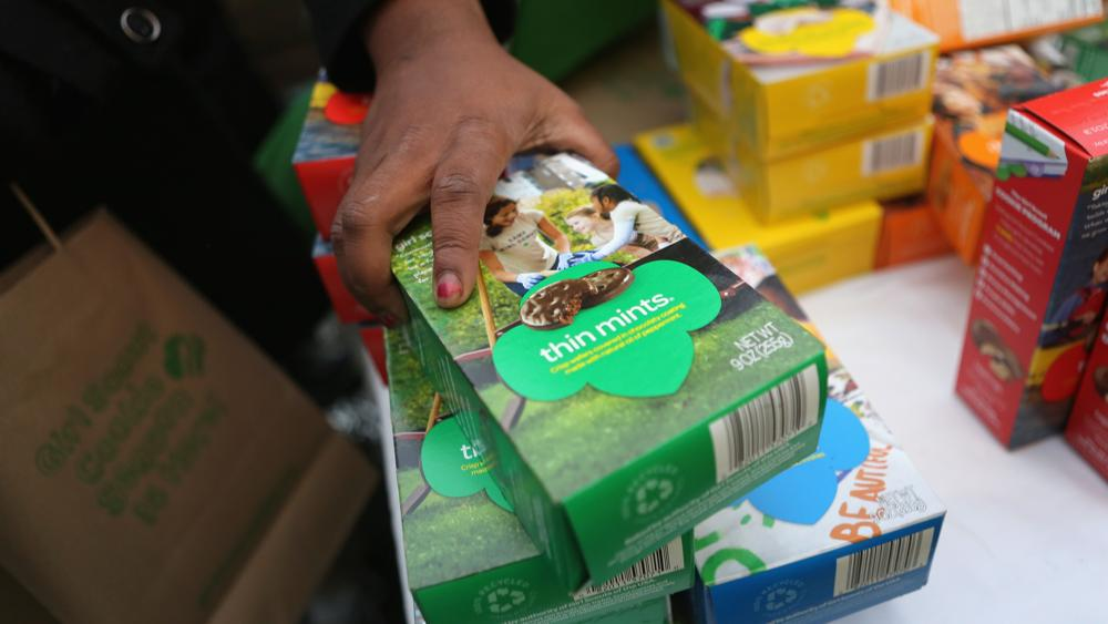Hungry? Girl Scouts looking to sell 720,000 unsold boxes of cookies