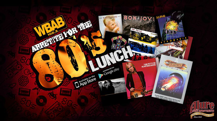 Appetite for 80s Lunch
