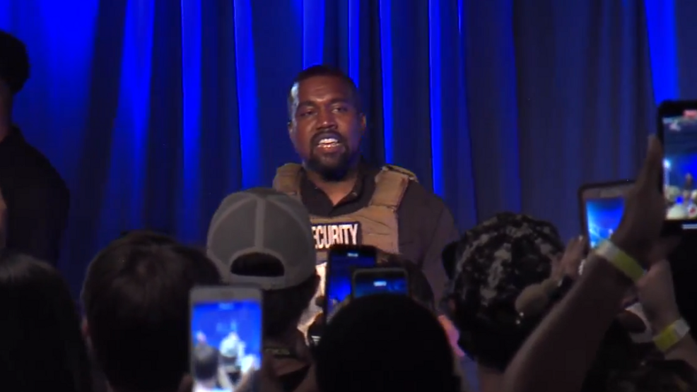 Kanye West Criticizes Harriet Tubman At His Sc Political Rally
