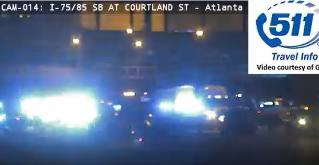 GSP trooper intentionally crashes into wrong-way driver on downtown Connector to stop him