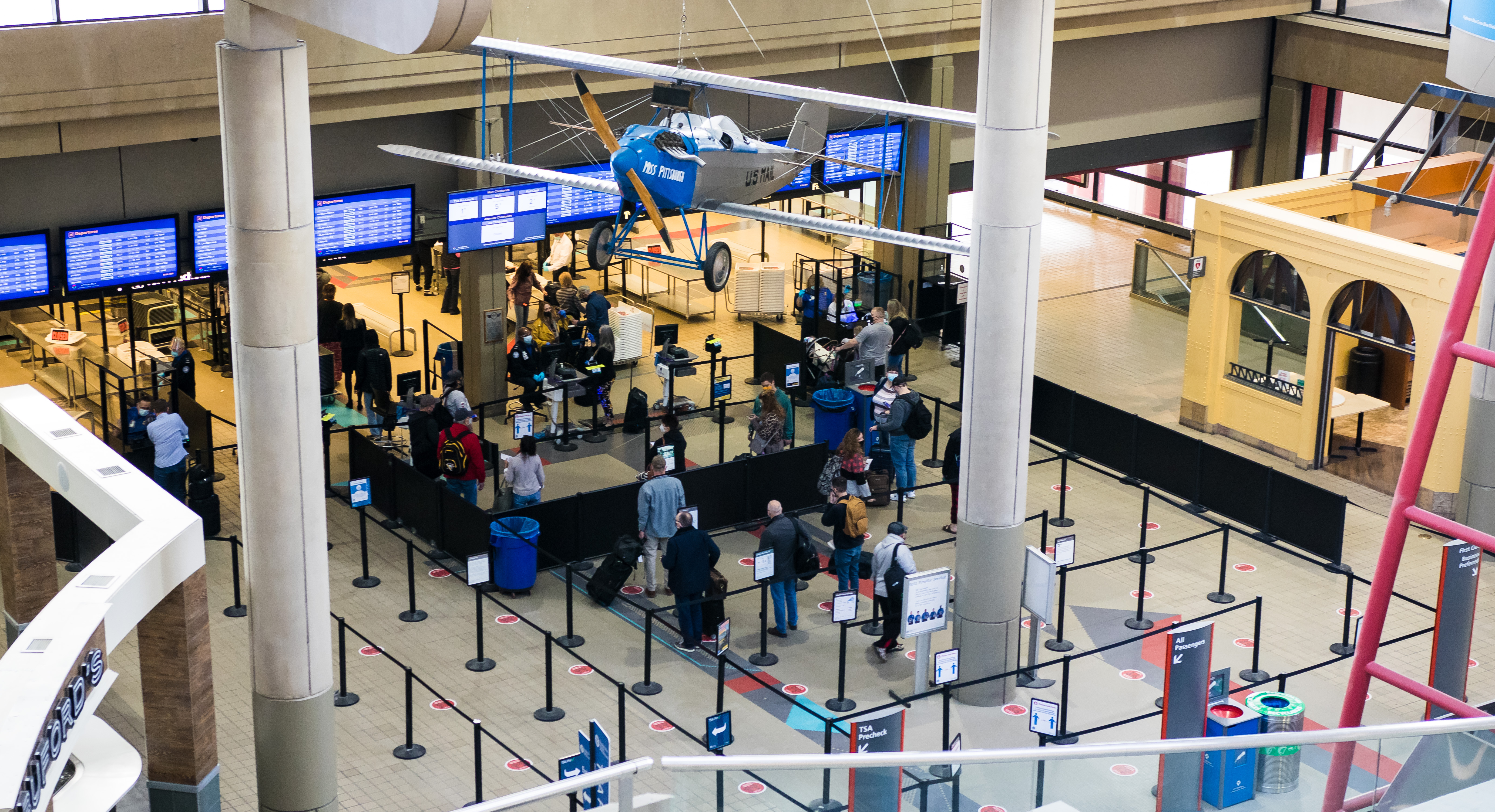 Traffic at region's airports 'starting to turn around' as more passengers take to the skies