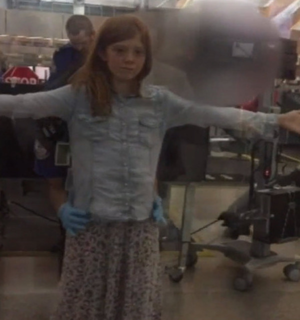 Father Outraged at TSA Pat-Down of 10-Year-Old Daughter