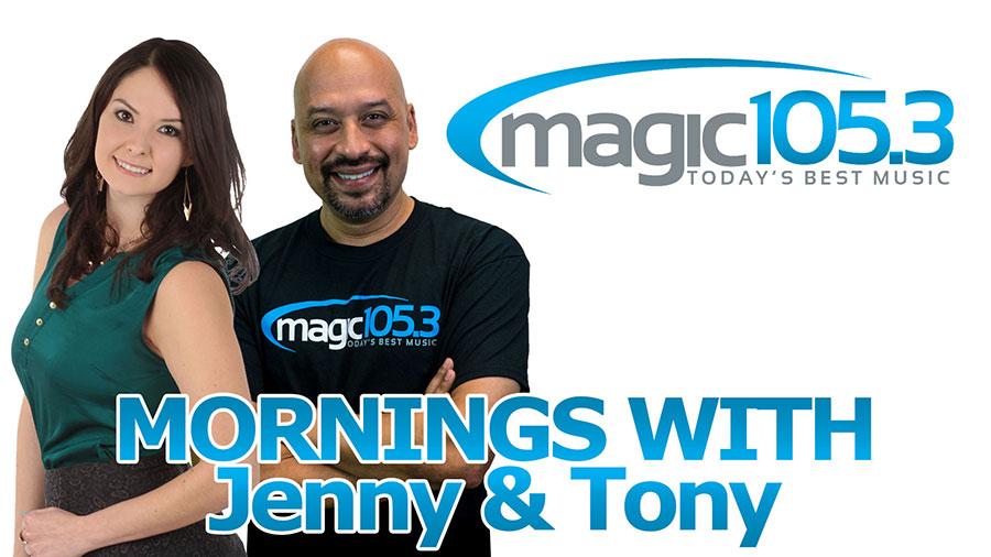 Mornings with Jenny & Tony